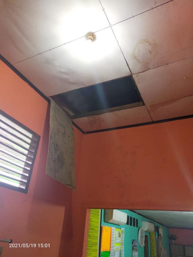 Masuk Melalui Plafon, Maling Bobol SDN 013 Pangkalan Kerinci