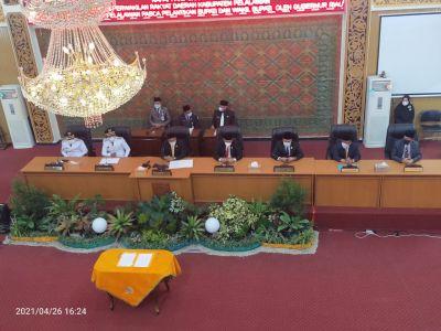 Pidato Perdana Bupati Pelalawan, Zukri: Hari Ini Awal Memulai Janji Kampanye Kami